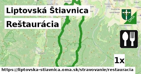 ilustračný obrázok k Reštaurácia, Liptovská Štiavnica