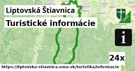 ilustračný obrázok k Turistické informácie, Liptovská Štiavnica
