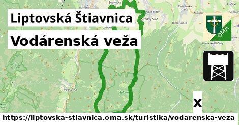 ilustračný obrázok k Vodárenská veža, Liptovská Štiavnica