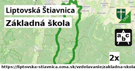 ilustračný obrázok k Základná škola, Liptovská Štiavnica