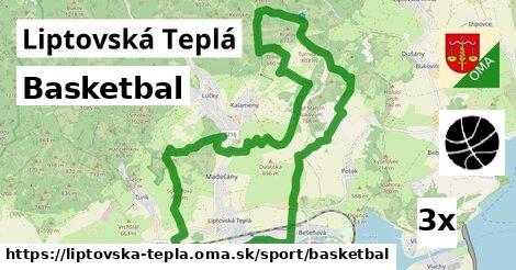 basketbal v Liptovská Teplá