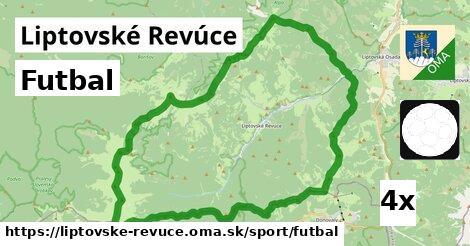 ilustračný obrázok k Futbal, Liptovské Revúce