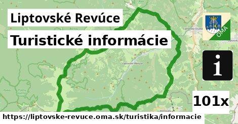 ilustračný obrázok k Turistické informácie, Liptovské Revúce