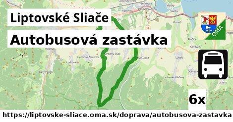 ilustračný obrázok k Autobusová zastávka, Liptovské Sliače