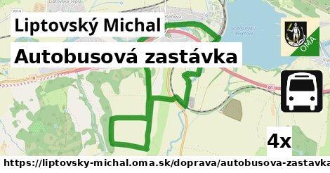 ilustračný obrázok k Autobusová zastávka, Liptovský Michal