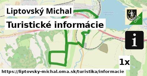 ilustračný obrázok k Turistické informácie, Liptovský Michal