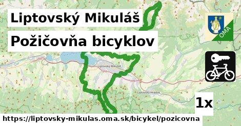 požičovňa bicyklov v Liptovský Mikuláš