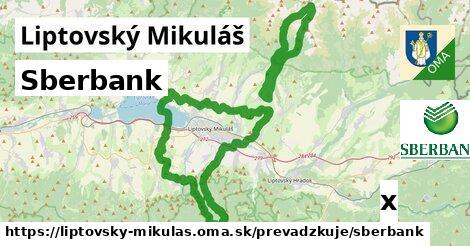 Sberbank v Liptovský Mikuláš