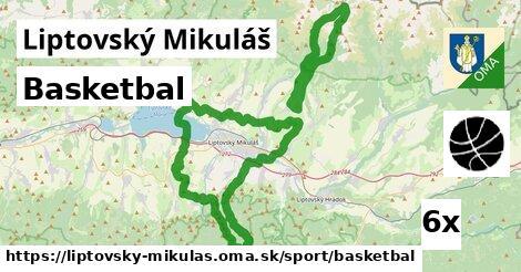 basketbal v Liptovský Mikuláš