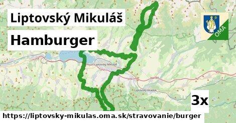 ilustračný obrázok k Hamburger, Liptovský Mikuláš