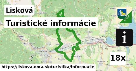ilustračný obrázok k Turistické informácie, Lisková