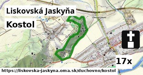 ilustračný obrázok k Kostol, Liskovská Jaskyňa