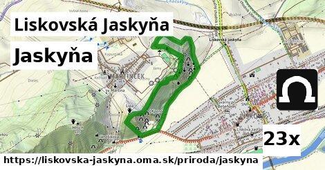 ilustračný obrázok k Jaskyňa, Liskovská Jaskyňa
