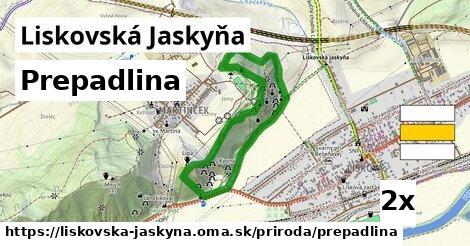 ilustračný obrázok k Prepadlina, Liskovská Jaskyňa