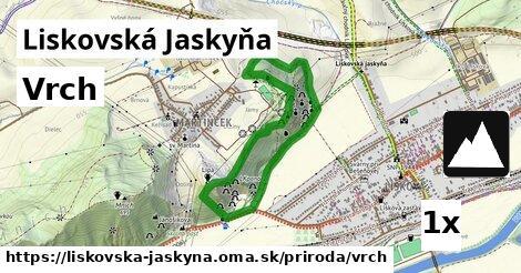 ilustračný obrázok k Vrch, Liskovská Jaskyňa