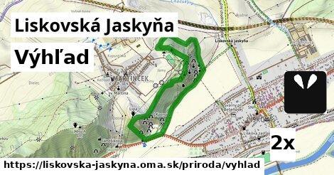 ilustračný obrázok k Výhľad, Liskovská Jaskyňa