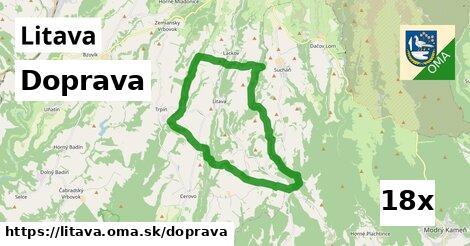 doprava v Litava