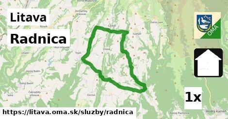 ilustračný obrázok k Radnica, Litava