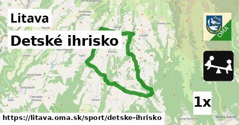 ilustračný obrázok k Detské ihrisko, Litava