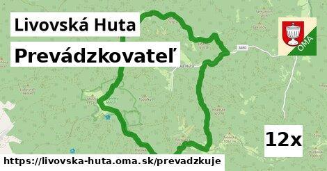 prevádzkovateľ v Livovská Huta