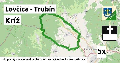 kríž v Lovčica - Trubín
