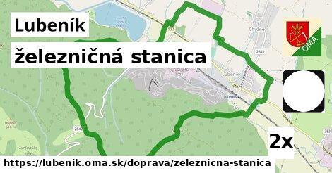 ilustračný obrázok k železničná stanica, Lubeník