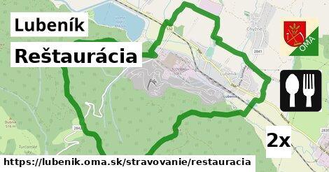 ilustračný obrázok k Reštaurácia, Lubeník
