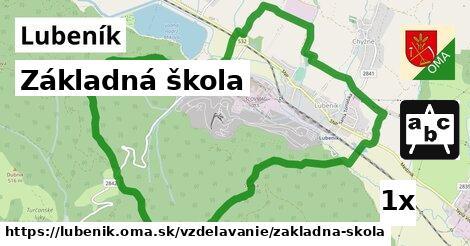 ilustračný obrázok k Základná škola, Lubeník