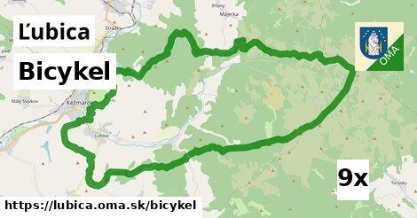 bicykel v Ľubica