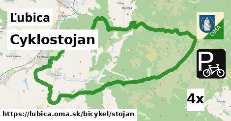 cyklostojan v Ľubica