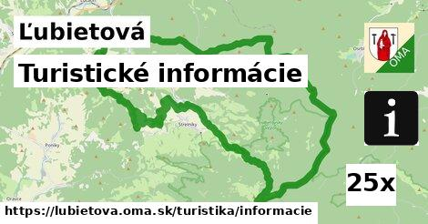 turistické informácie v Ľubietová