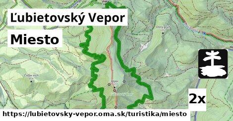miesto v Ľubietovský Vepor