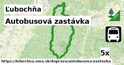 ilustračný obrázok k Autobusová zastávka, Ľubochňa