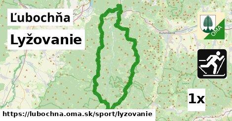 lyžovanie v Ľubochňa