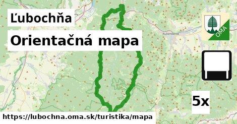 ilustračný obrázok k Orientačná mapa, Ľubochňa