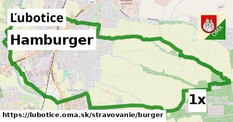 hamburger v Ľubotice