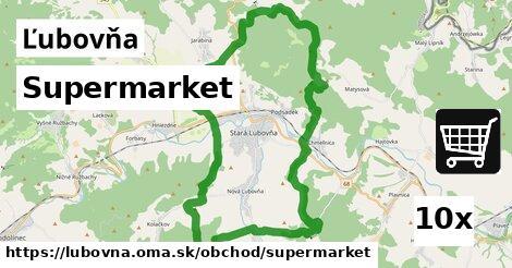 supermarket v Ľubovňa