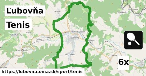 tenis v Ľubovňa