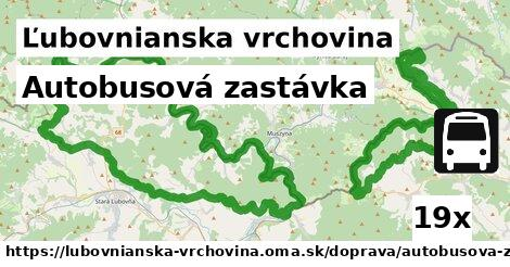 ilustračný obrázok k Autobusová zastávka, Ľubovnianska vrchovina