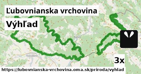 ilustračný obrázok k Výhľad, Ľubovnianska vrchovina