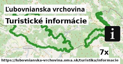 ilustračný obrázok k Turistické informácie, Ľubovnianska vrchovina