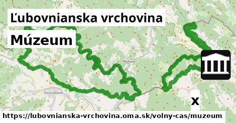ilustračný obrázok k Múzeum, Ľubovnianska vrchovina