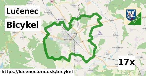 bicykel v Lučenec