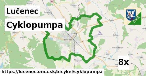cyklopumpa v Lučenec
