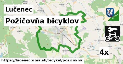 požičovňa bicyklov v Lučenec
