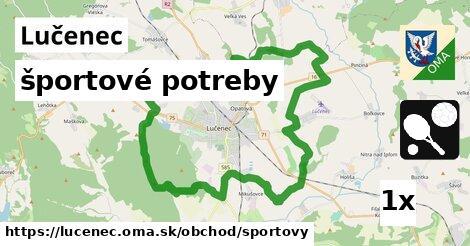 športové potreby v Lučenec