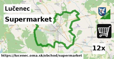 supermarket v Lučenec