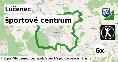 športové centrum v Lučenec