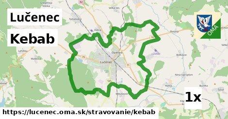 kebab v Lučenec