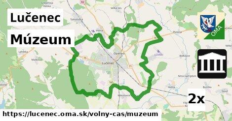 ilustračný obrázok k Múzeum, Lučenec